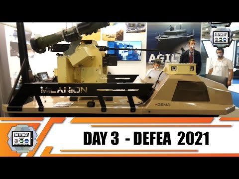 DEFEA 2021 Day 3 International Defense Exhibition coverage Greece Athens air land and sea