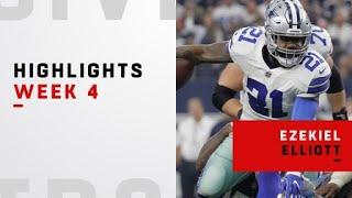Zeke's best plays from his 240-yard game | Week 4
