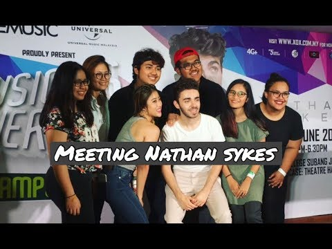 Vlog: Meeting Nathan Sykes!!!