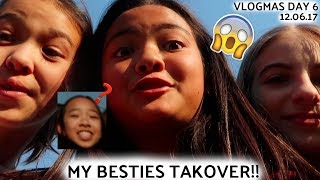 MY BESTIES TAKEOVER!! VLOGMAS DAY 6 | Nicole Laeno