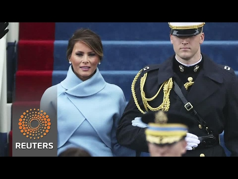New U.S. first lady Melania Trump's Inauguration Day outfit wows critics