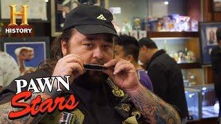 Pawn Stars: John Popper's Harmonica Vest (Season 15) | History