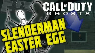 SLENDER-MAN EASTER EGG IN CALL OF DUTY GHOSTS!! (WHITEOUT SLENDERMAN EASTER EGG)