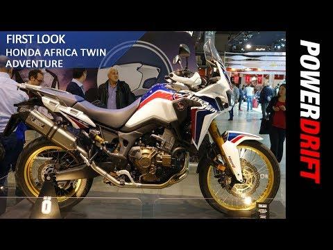 Honda Africa Twin Adventure Sports : EICMA 2017: PowerDrift