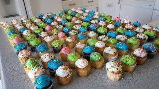 125 Cupcake Challenge (12,083 Calories)