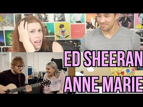 Anne-Marie & Ed Sheeran – 2002 Acoustic - REACTION