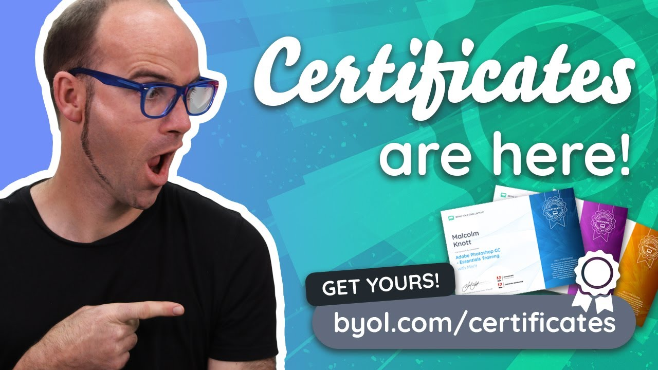 Launching Certificates on BYOL.com - Finally!