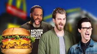 Good Mythical Morning: The Big Shack Burger Review
