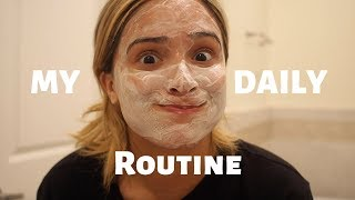 My Daily Routine! | My Workout, Meals and Skin Care Routine!