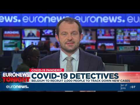 COVID-19 detectives: Belgium to recruit 2,000 people to track down new cases photo