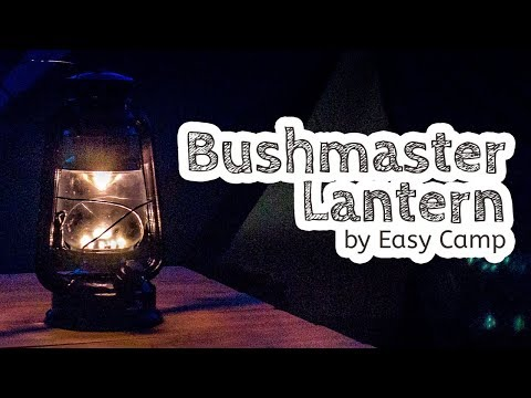 video Easy Camp Bushmaster Lantern: Glam Camping that doesn't cost a fortune