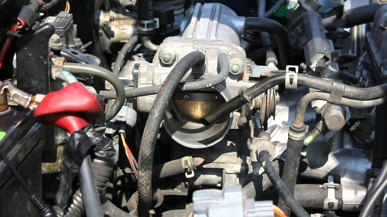 How To Clean Throttle Body Youtube