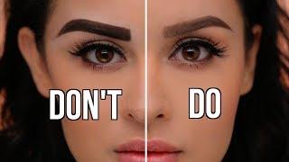Eyebrow Do's and Don'ts