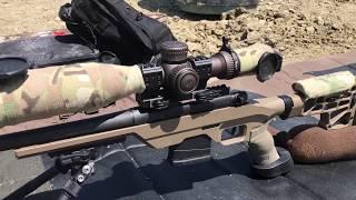 Mossberg MVP LC Percision rifle shooting at half a mile 308 caliber