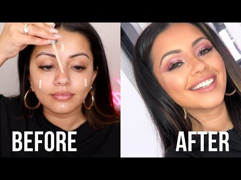 PINK & PRETTY DATE NIGHT GET READY WITH ME | DATE NIGHT GRWM