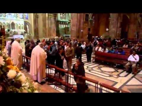 Ya no eres pan y vino - canto para la comunion - Voces al Cielo.mp4