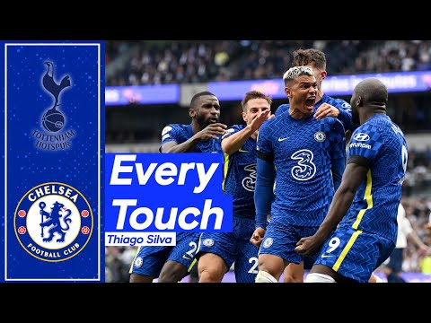 Thiago Silva's Dominant Display Against Tottenham! | Every Touch