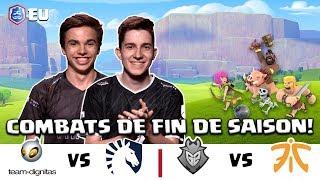 [FR] CRL Europe: Dignitas vs Team Liquid | G2 Esports vs Fnatic