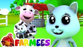 Campana de ding dong   Canciones infantiles   Dibujos animados   Farmees Español   Educación