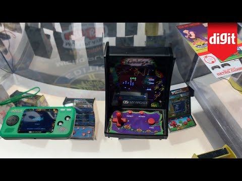 Check Out My Arcade Micro Player Arcade Machines To Re-Live Your Retro Gaming Days From CES 2020