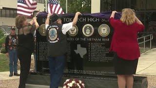 23 local Vietnam War fallen heroes honored with a memorial