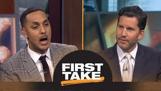 Will Cain, Ryan Hollins debate whether LeBron James will be patient with Lakers | First Take | ESPN