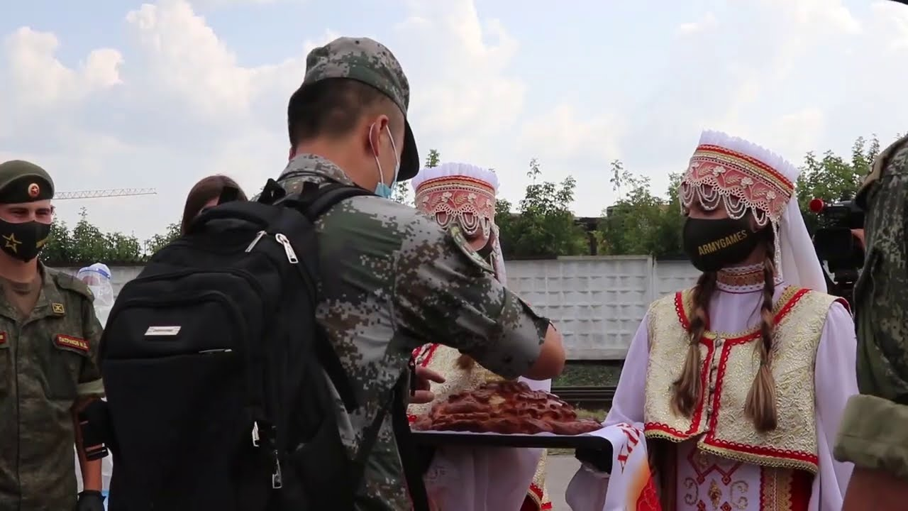 АрМИ-2020. Прибытие китайских военных в Россию