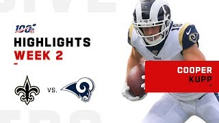 Cooper Kupp's 100+ Yard Day | NFL 2019 Highlights