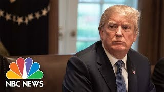 President Donald Trump Makes First Appearance Since Canceling North Korea Summit | NBC News