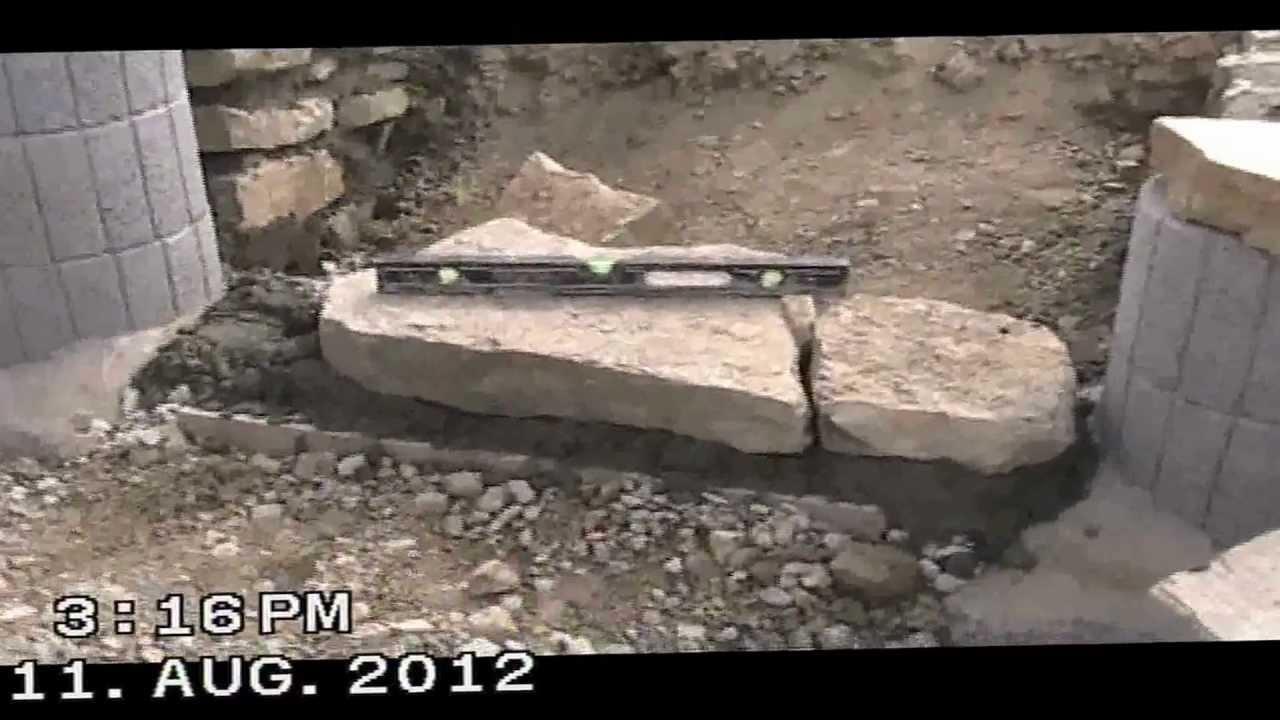 naturstein treppenbau youtube