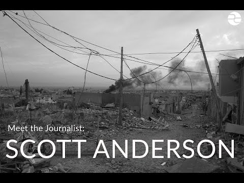 Meet the Journalist: Scott Anderson