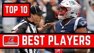 Top 10 NFL Players in the 2019 AFC Championship Game