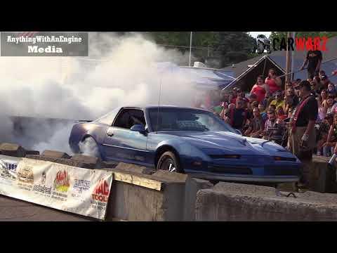 Pontiac Trans Am Formula 350 Burnout At Rod Benders Burnout Competition