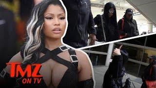 Nicki Minaj Finally Steps Out Of Hiding!!! | TMZ TV