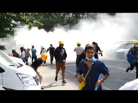 緬甸政變最血腥日 38名示威者身亡、美聯社等6記者被捕|20210304 公視晚間新聞