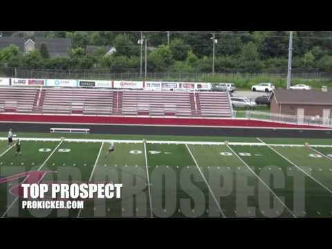 Tanner Dawson, Punter, Ray Guy Prokicker.com Top Prospect Camp 2016