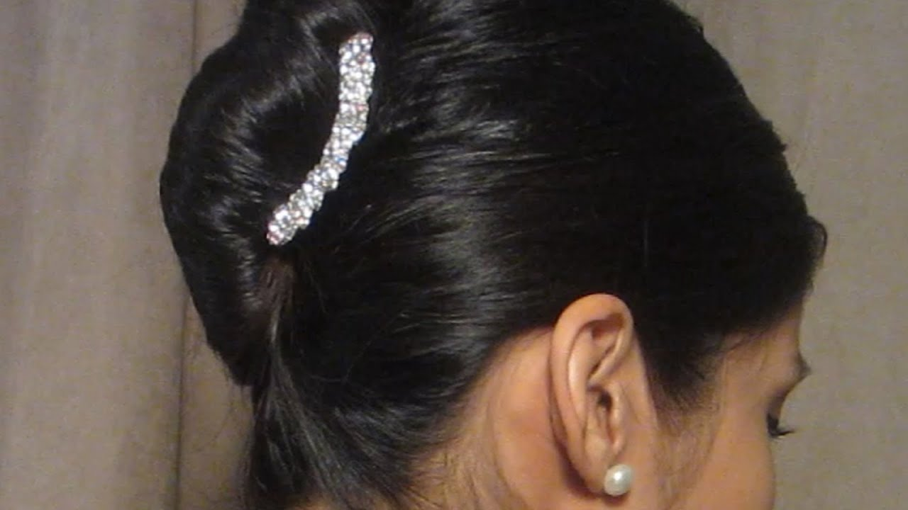 Easy French Twist Hairstyle