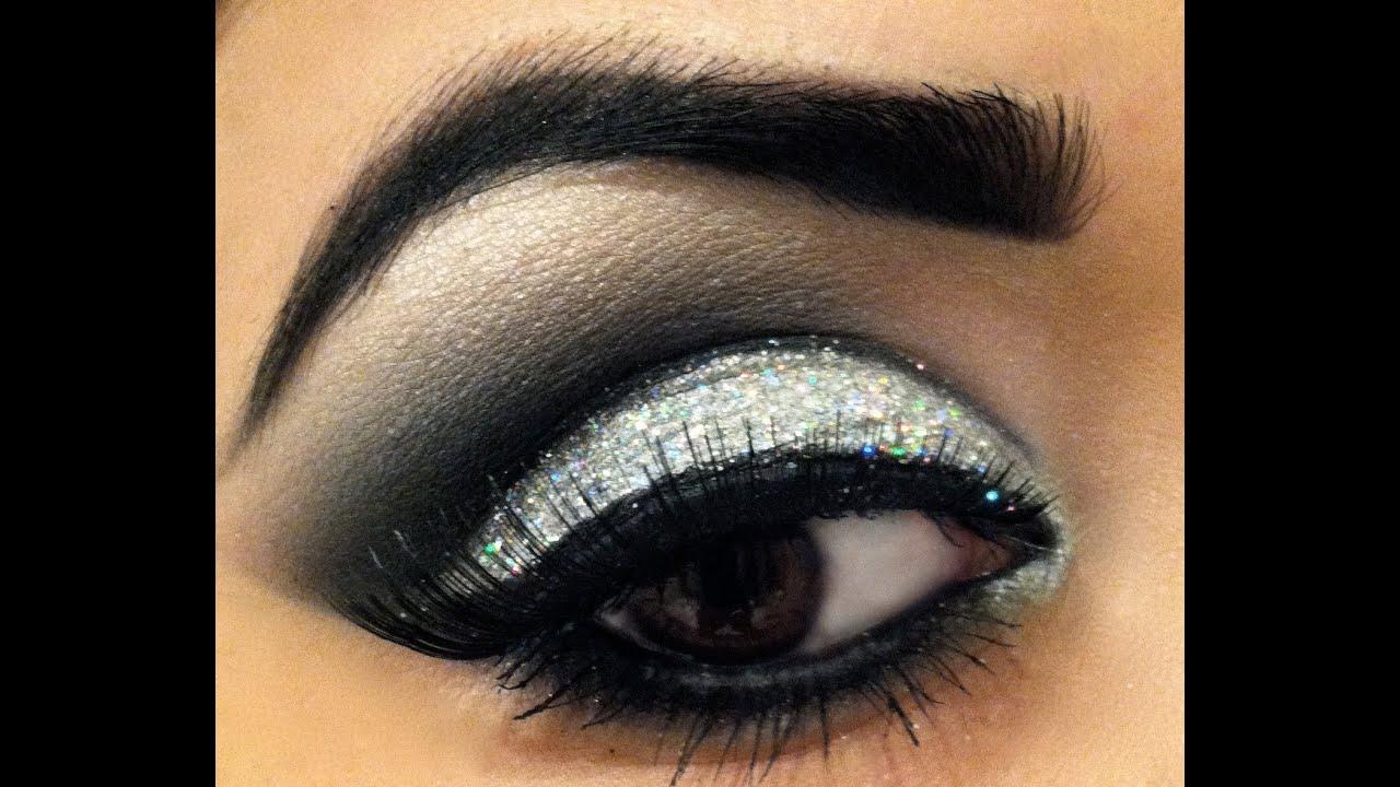 Eye makeup glitter