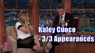 Kaley Cuoco - Prefers Animals Over People - 3/3 Appearances In Chron. Order [HD]