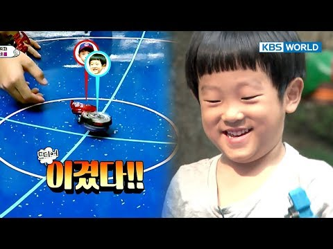 Seojun's top-spinning skill beats boys older than him! [The Return of Superman/2017.11.05]