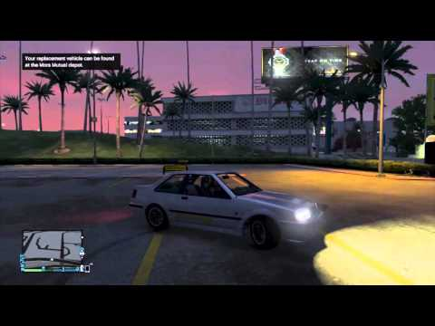 How to Make a Claim on your Insurance GTA V online  GTA 5