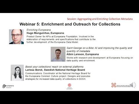 丰富元数据网络研讨会5:丰富和拓展
