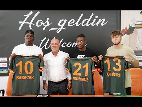 Alanyaspor'da 3 yeni transfer için imza töreni