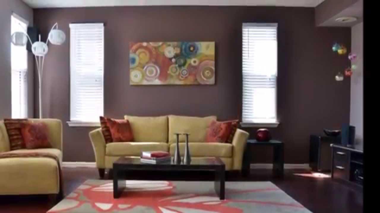 Id es de peinture pour salon youtube - Idee de peinture pour chambre ...