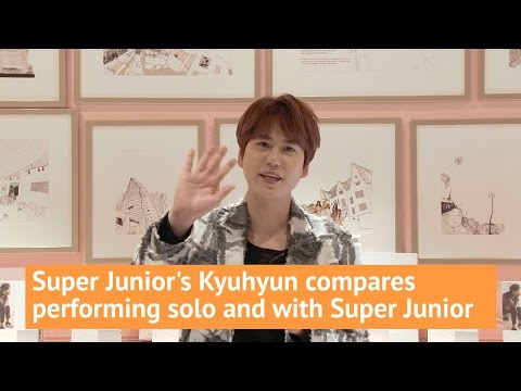 Super Junior's Kyuhyun compares performing solo and in Super Junior