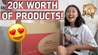 UNBOXING 20,000 WORTH MYSTERY BOX + GIVEAWAY!! | Rei Germar