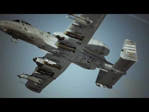 ACE COMBAT™7  SKIES UNKNOWN Mission 8 Oil and Pipeline Desert Full Replay UHD, Alienware, m17, RTX