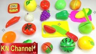 Đồ chơi trẻ em-Con dao thần kỳ-bộ đồ chơi làm bếp cho bé Na KN Channel kids toys
