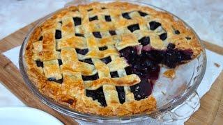 Pie de Arándanos - Fácil - (Blueberry Pie) - Mi Cocina Rápida