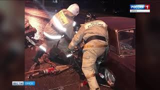 Серьёзная авария произошла сегодня в Омске